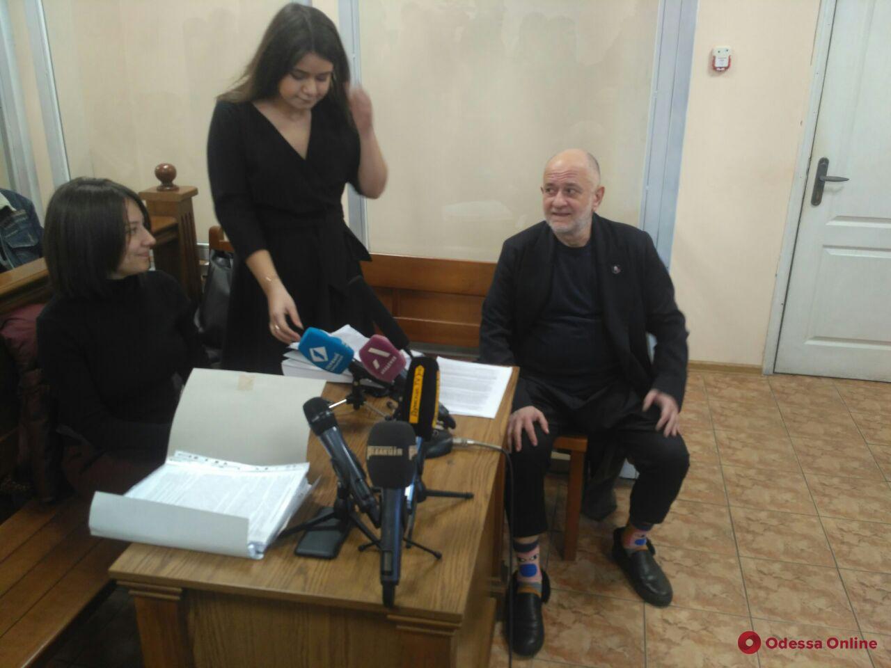 Суд продолжил рассмотрение иска Ройтбурда о признании незаконным егоувольнения с должности директора Одесского худмузея