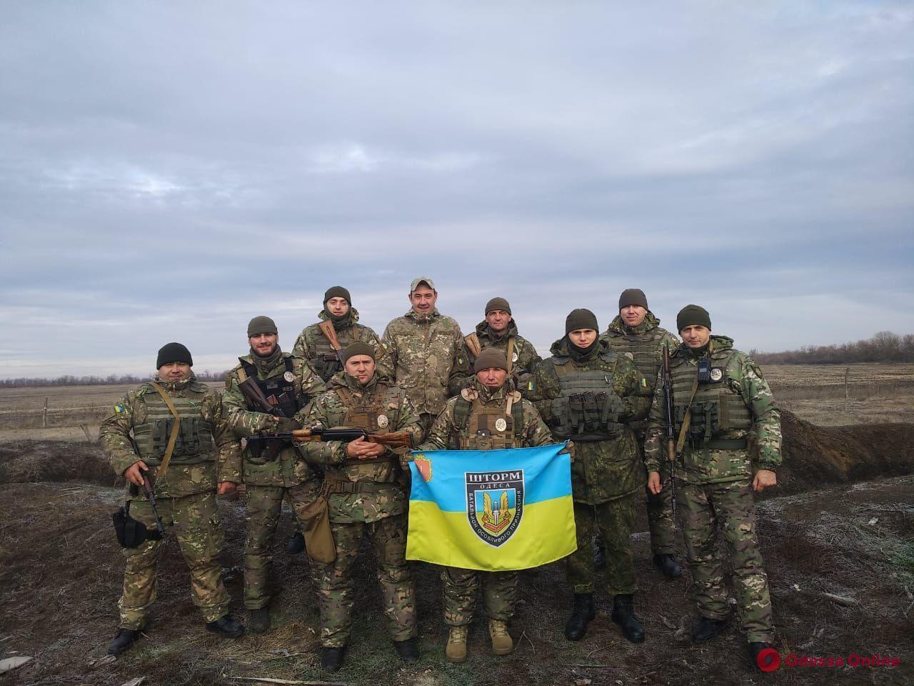 Поездка в зону ООС: один день с бойцами одесского «Шторма»