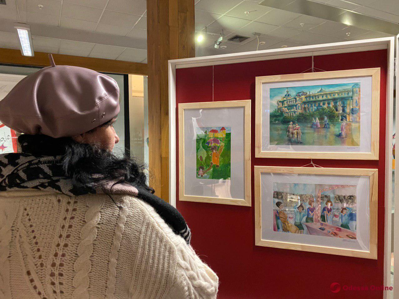 «В мире мечты»: в Одессе открылась выставка детских рисунков (фото, видео)