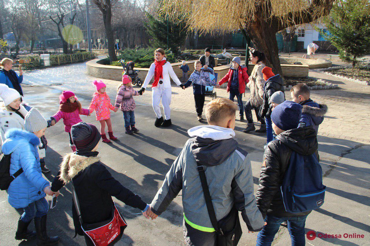 В Одесском зоопарке отметили День Святого Николая (фото)