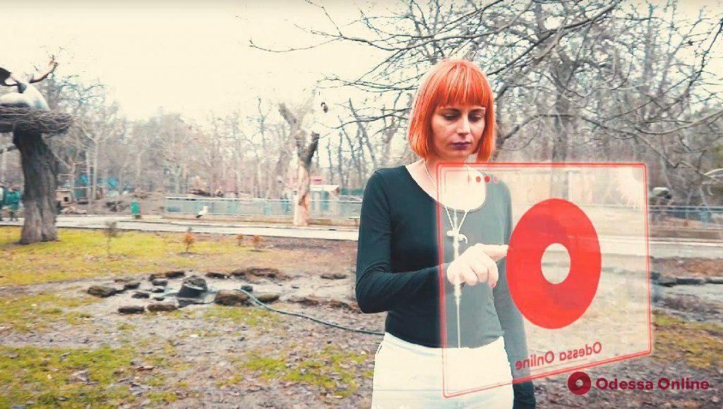 Скоро на экранах: в одесском зоопарке сняли традиционный новогодний блокбастер (видео)