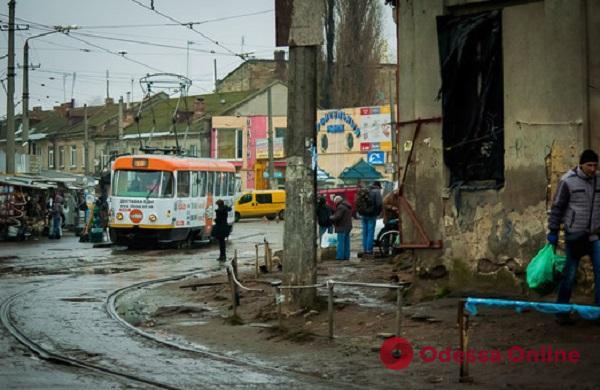 В Одессе через два месяца перекроют улицу Новощепной ряд и сократят трамвайные маршруты