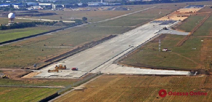 Реконструкцию Одесского аэропорта продолжат весной