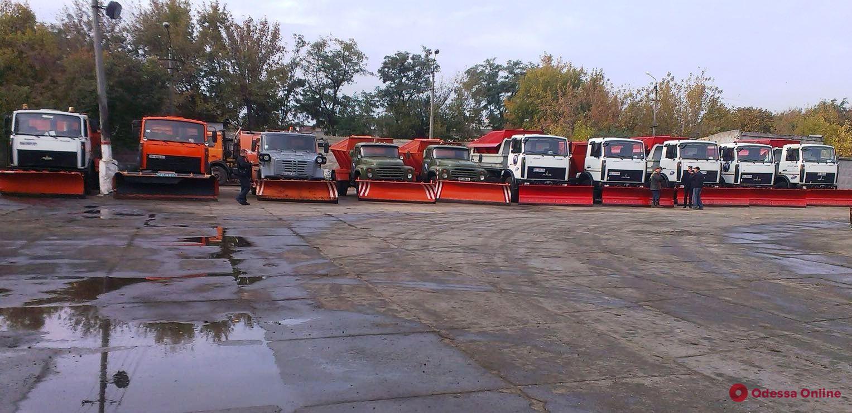 В Одессе подготовились к снежным заносам
