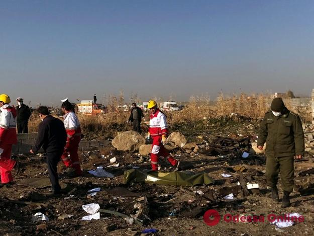 В Украине объявлен день траура по погибшим в авиакатастрофе в Иране