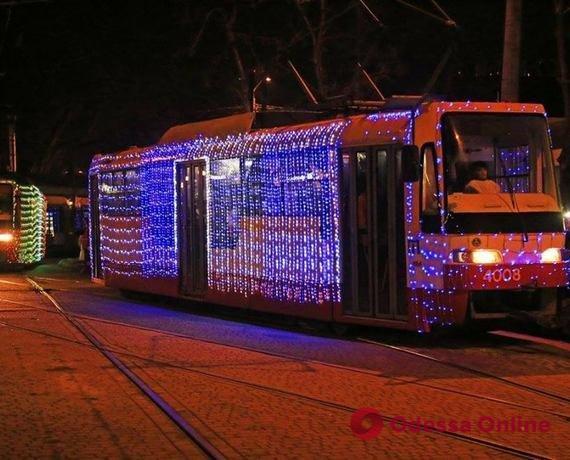 В Одессе пройдет рождественский парад трамваев