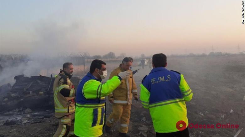 В Иране разбился самолет украинских авиалиний