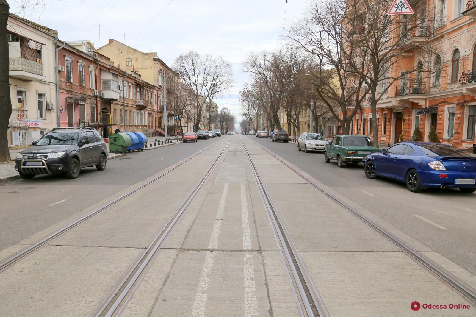 Капремонт улицы Софиевской вышел на финальную стадию (фото)