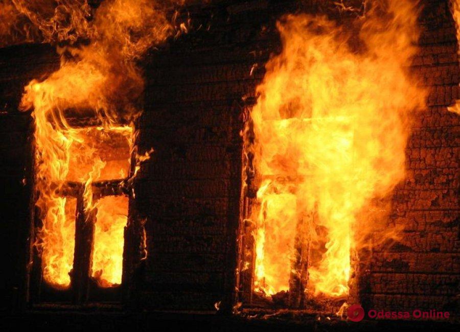 В Одесской области во время пожара погибла хозяйка дома