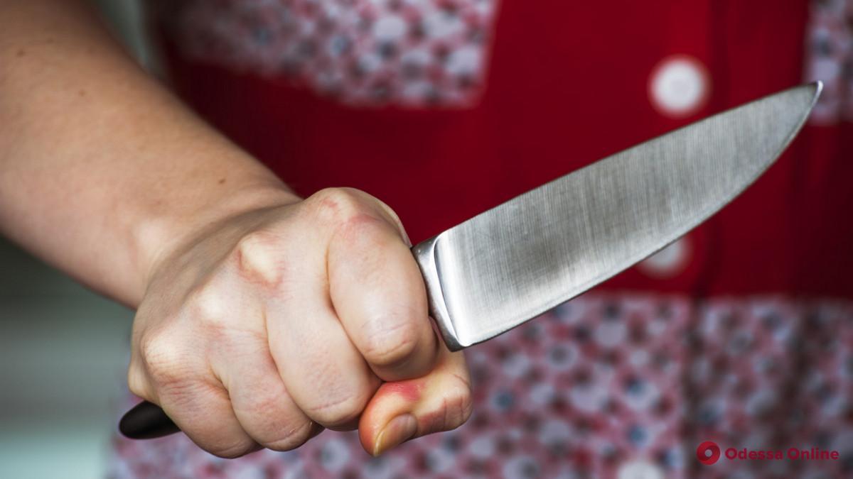 Жительница Одесской области зарезала мужа в разгаре семейной ссоры