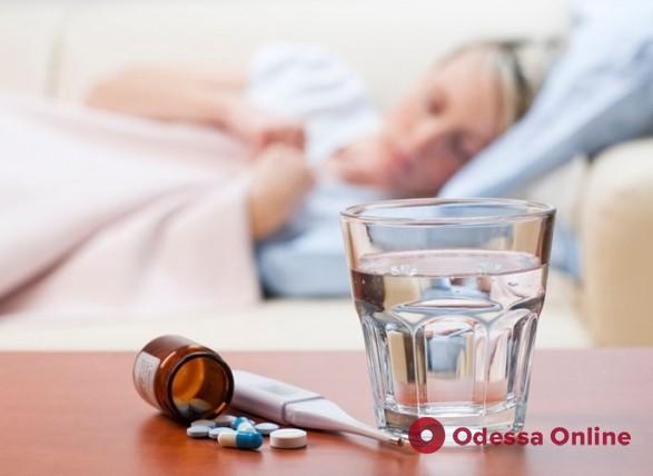 В Одессе снизилась заболеваемость гриппом и ОРВИ
