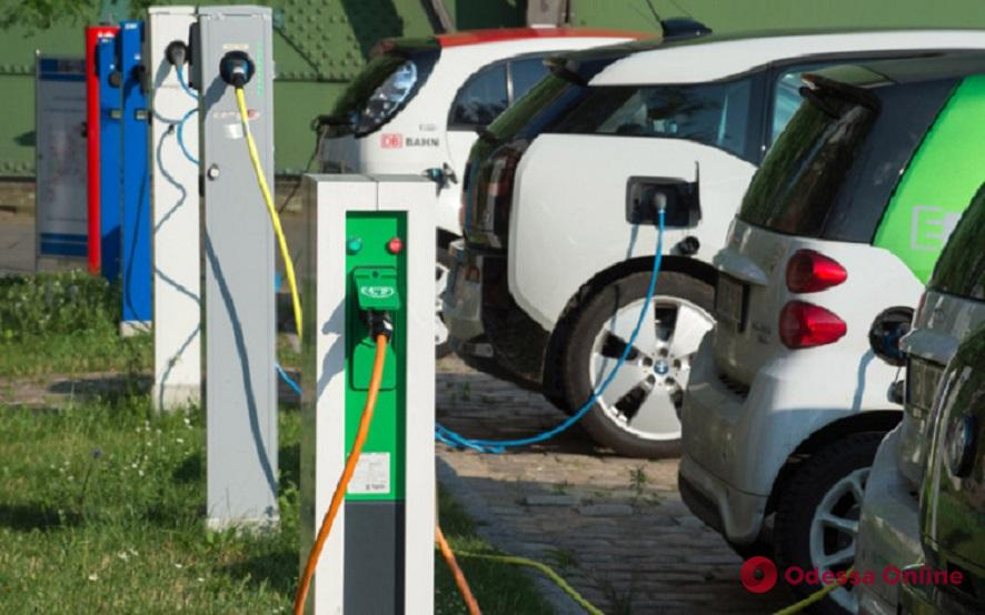 В Одессе хотят узаконить зарядные станции для электрокаров