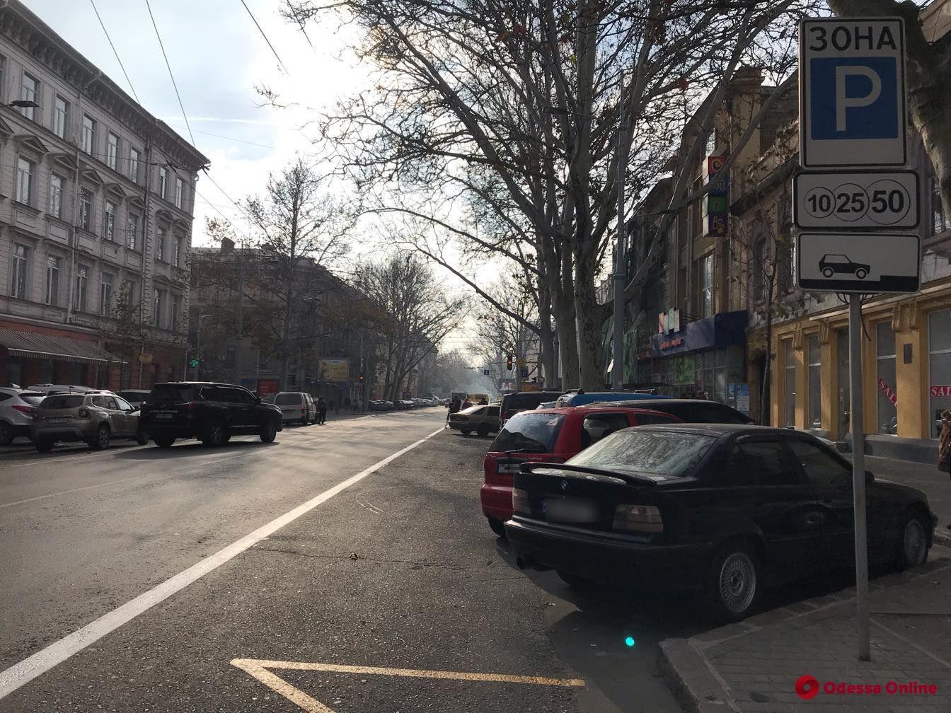 На Пушкинской планируют выделить полосу для общественного транспорта