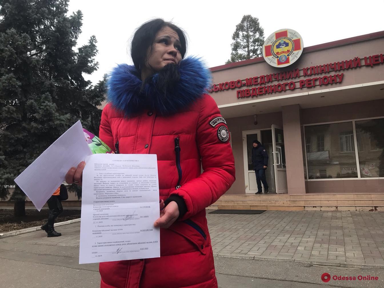 В Одесской области избитая военнослужащая боится возвращаться в свою воинскую часть