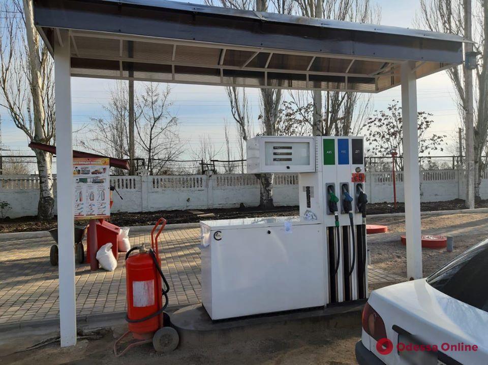 В Одессе на подпольной АЗС изъяли топлива на 330 тысяч