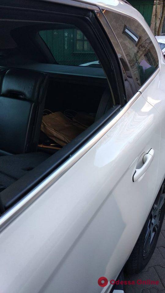 У прокурора Одесской области ограбили машину