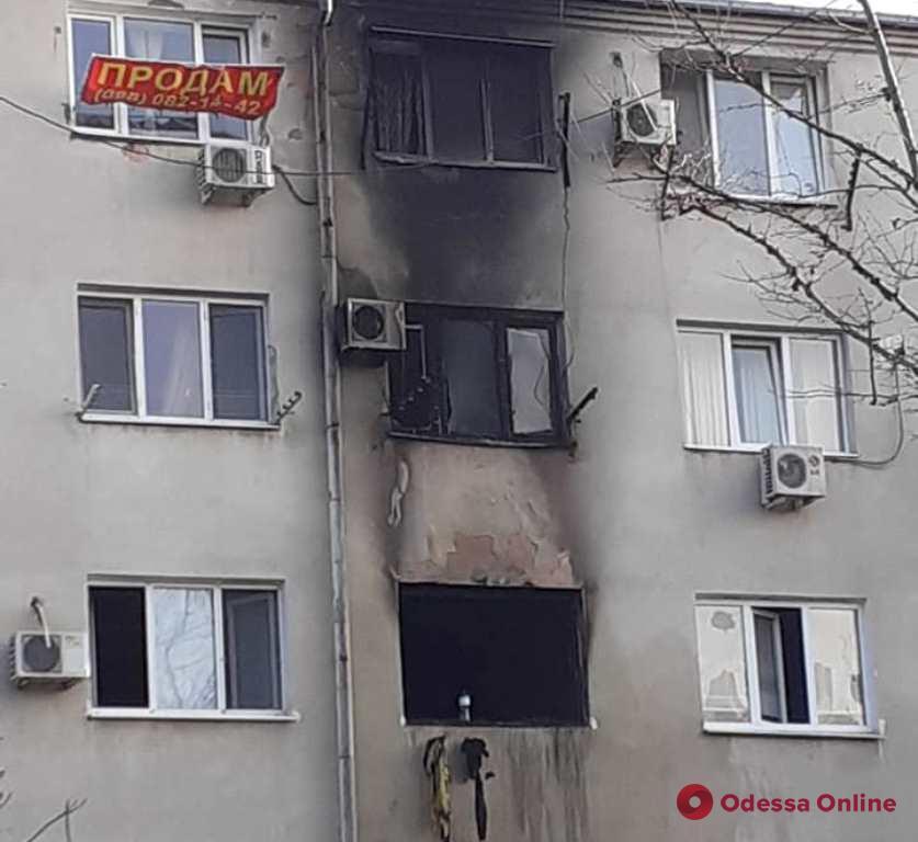 В Черноморске на пепелище нашли труп (обновлено)