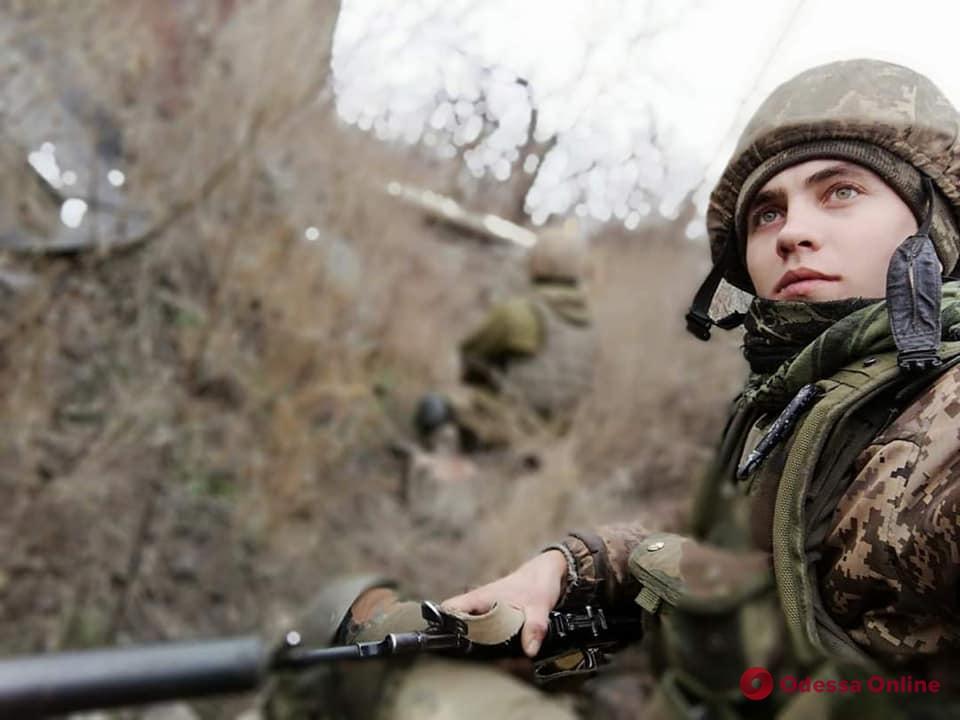 На востоке Украины во время обстрела погиб боец одесской 28-й мехбригады