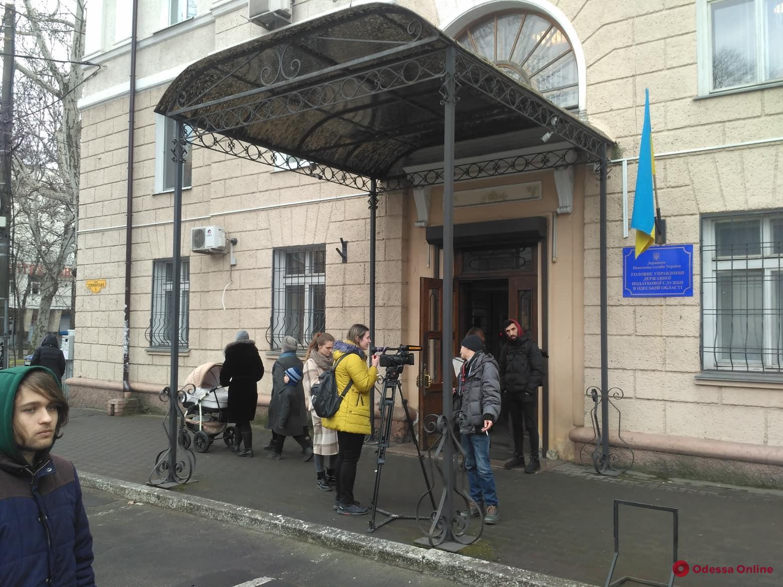 Только для избранных: в Одессе журналистов не пустили на брифинг главы налоговой службы Украины