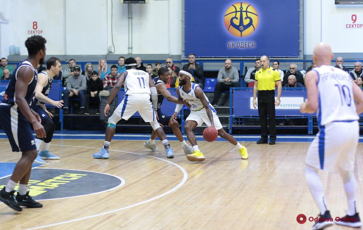 Баскетбол: невероятный Мэсси приносит «Одессе» победу над аутсайдером Суперлиги
