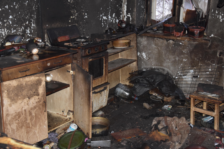В Одессе при пожаре в своей квартире погибла женщина