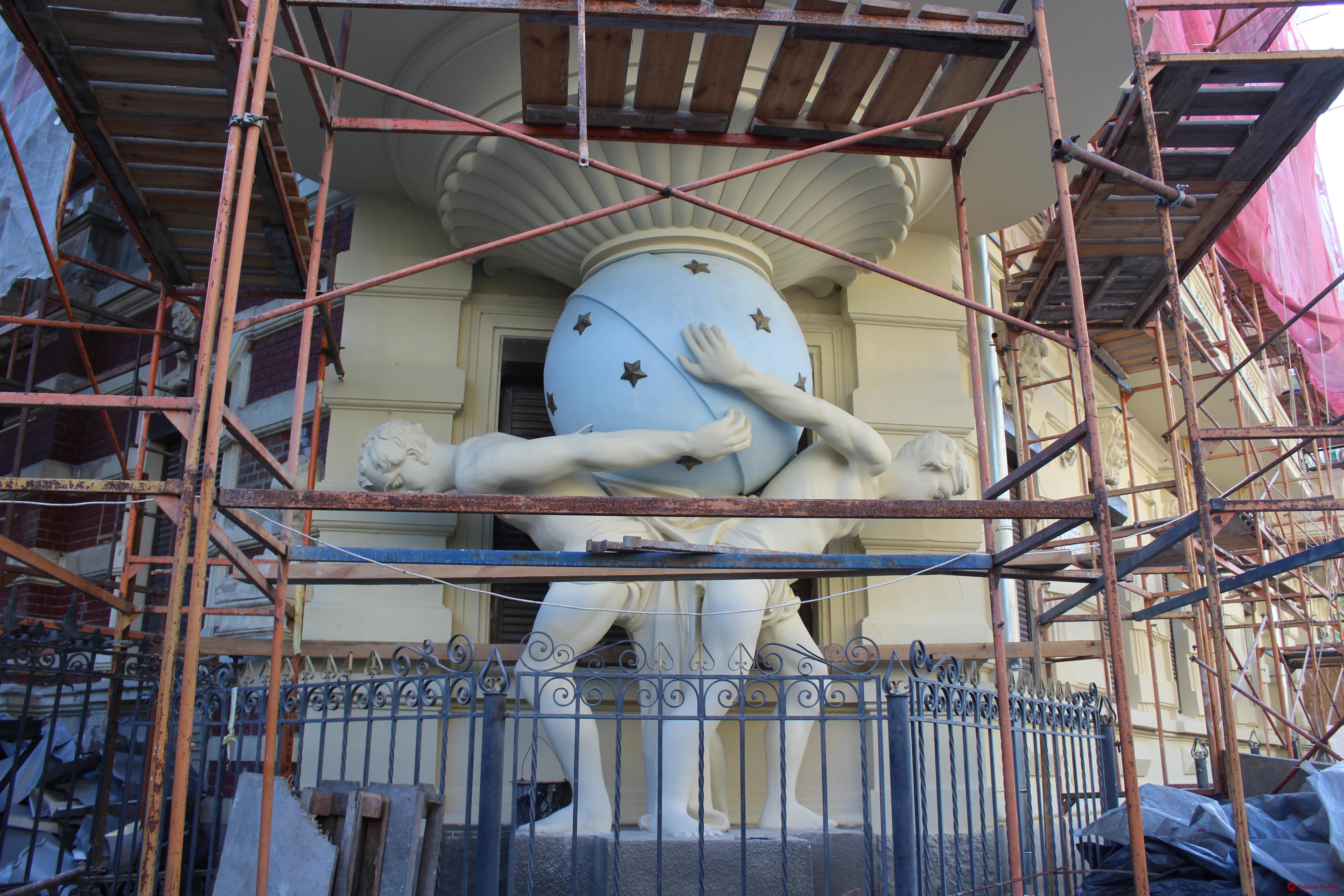 Реставрацию домов-памятников архитектуры на Гоголя закончат к лету (фото)