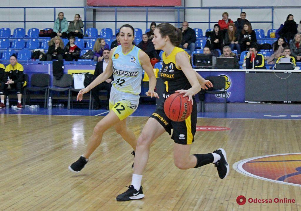 Одесские баскетболистки крупно проиграли фавориту Суперлиги