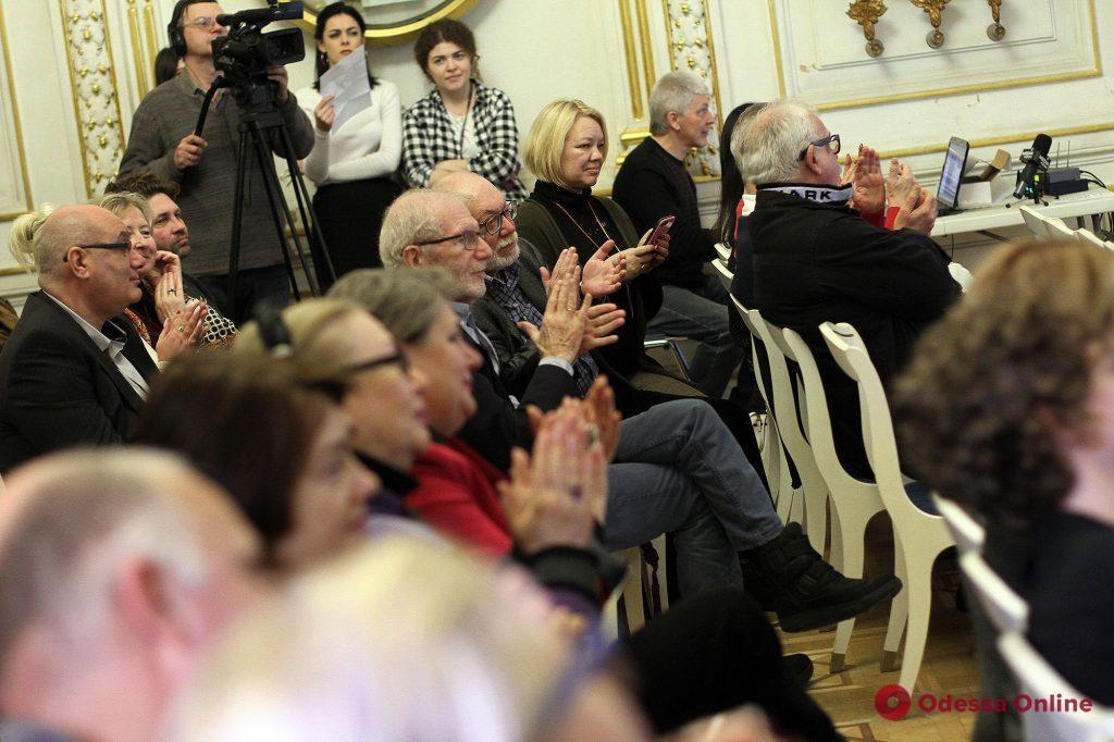 Выдающихся одесситов наградили премией Яна Гельмана