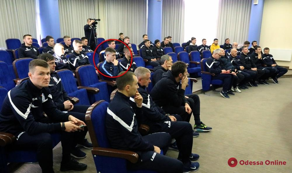 «Черноморец» презентовал новичков и поделился планами на подготовительный период