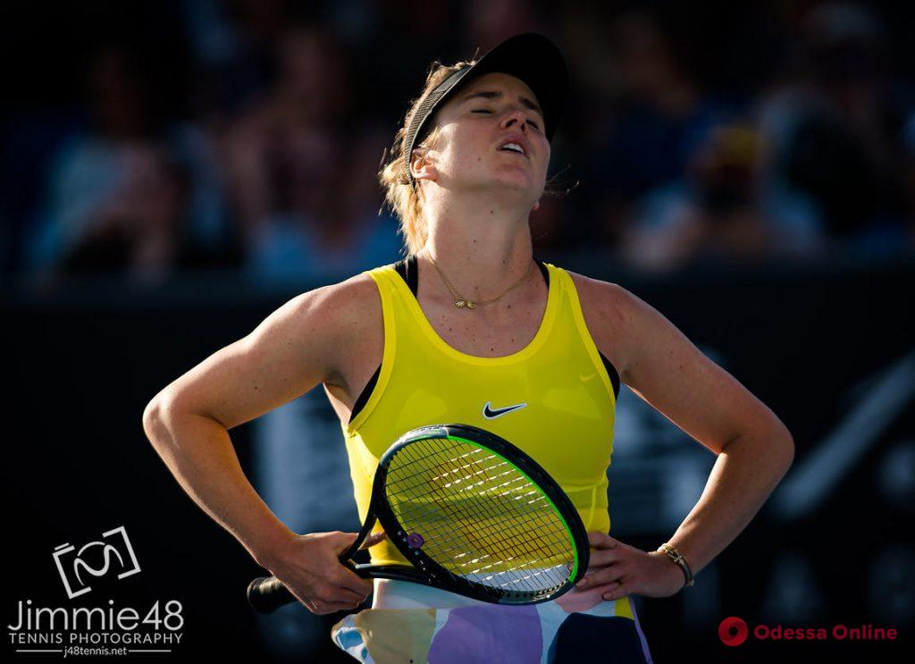 Теннис: уроженка Одессы с треском проиграла в Австралии
