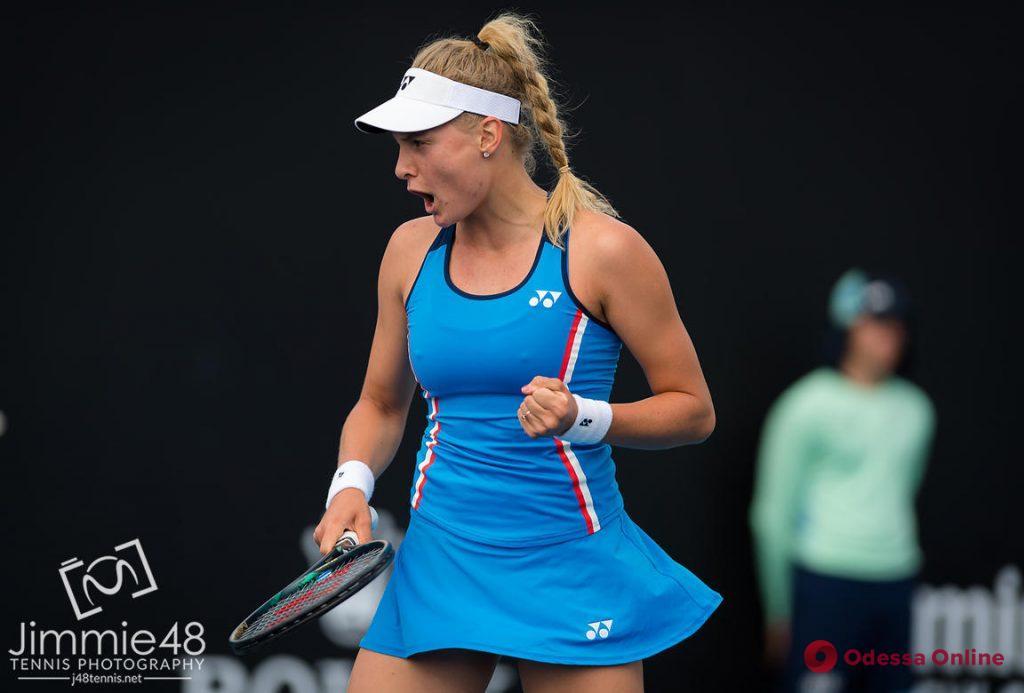 Одесская теннисистка вышла в 1/8 финала турнира в Нью-Йорке