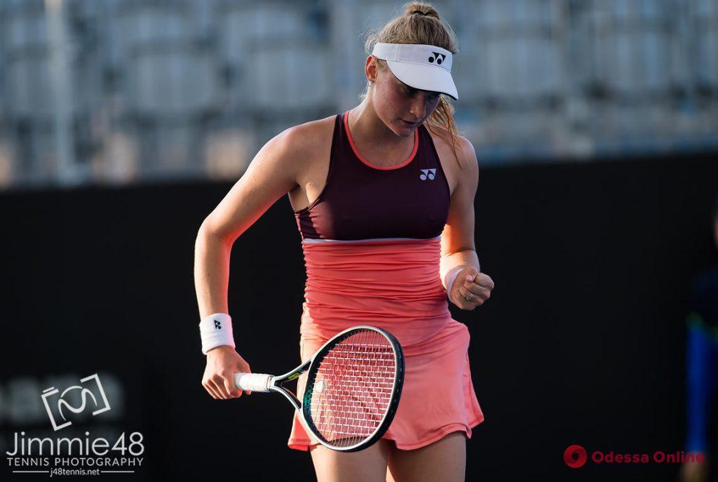 Теннис: одесситка помогла сборной Украины победить команду Эстонии