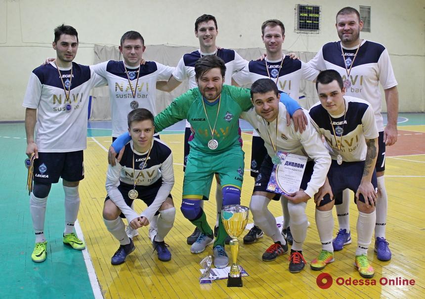 В Одессе разыграли Рождественский Кубок по футзалу