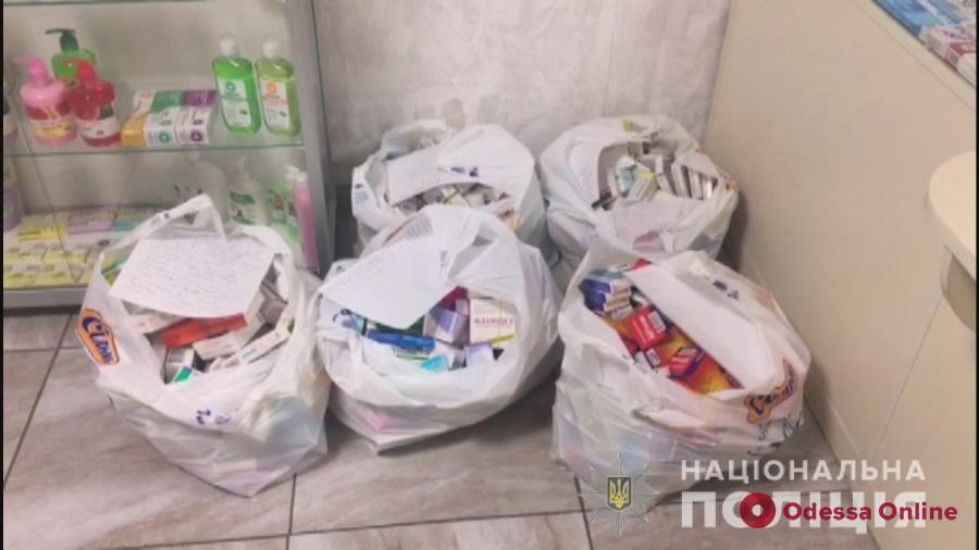 В Одессе закрыли работавшую без лицензии аптеку