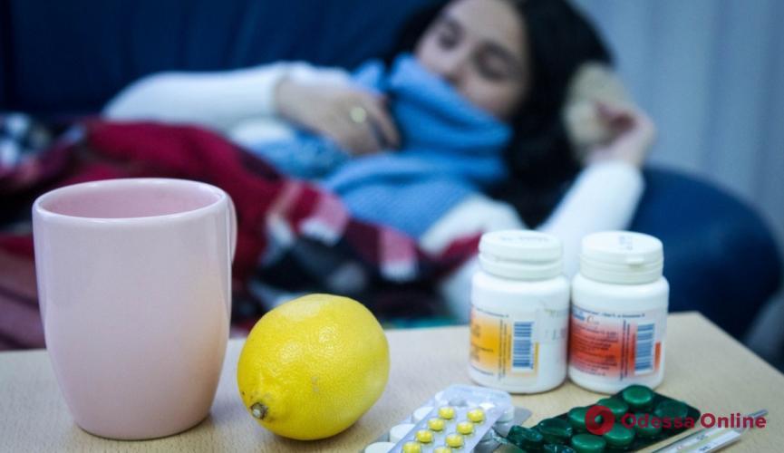 На прошлой неделе гриппом и ОРВИ заболели 3 тысячи одесситов