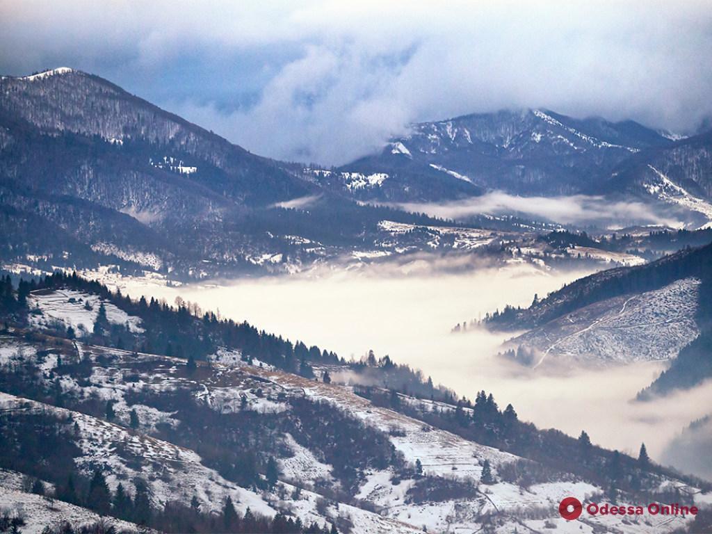 В Карпатах спасали туриста-лыжника из Одессы