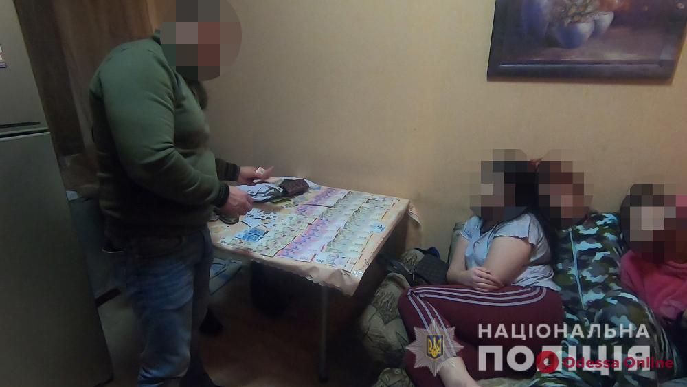В Одессе «накрыли» бордель (видео)