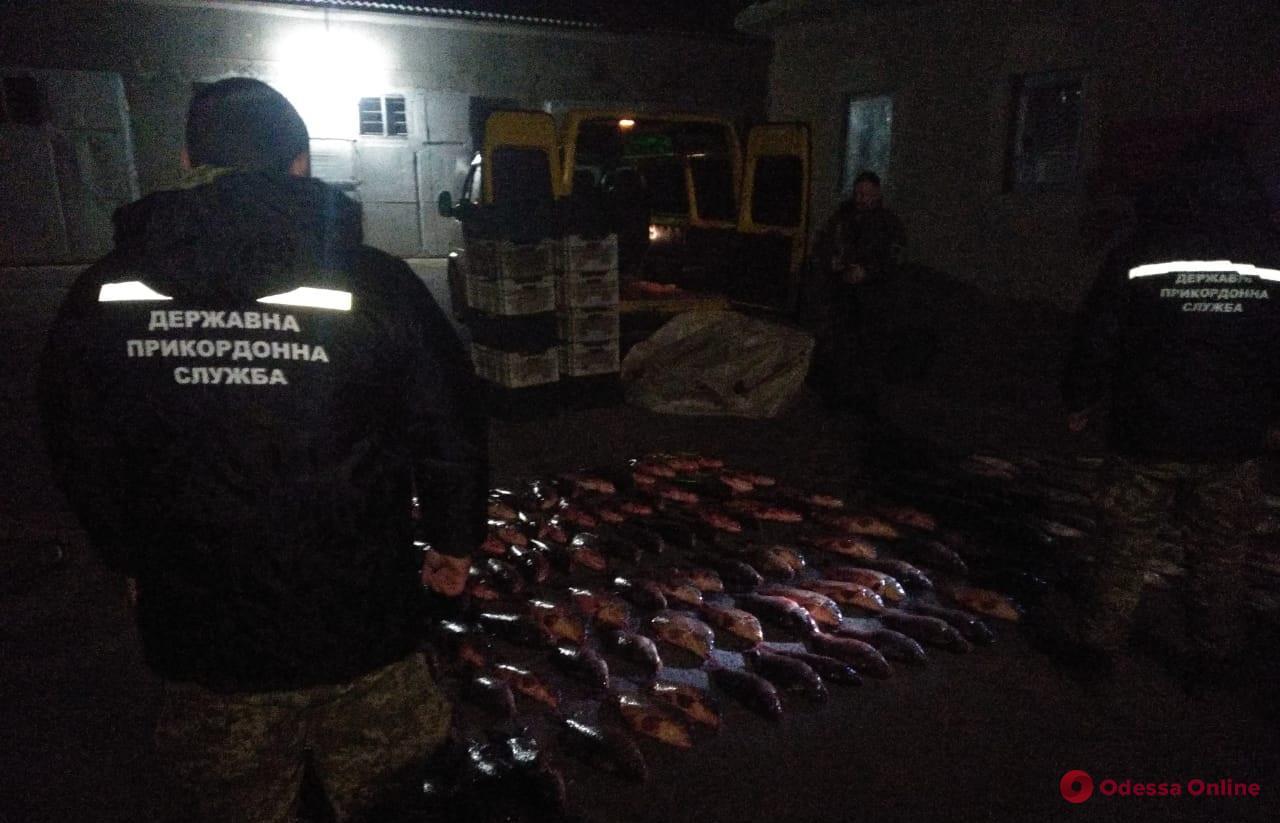 В Одесской области поймали браконьеров с живым товаром