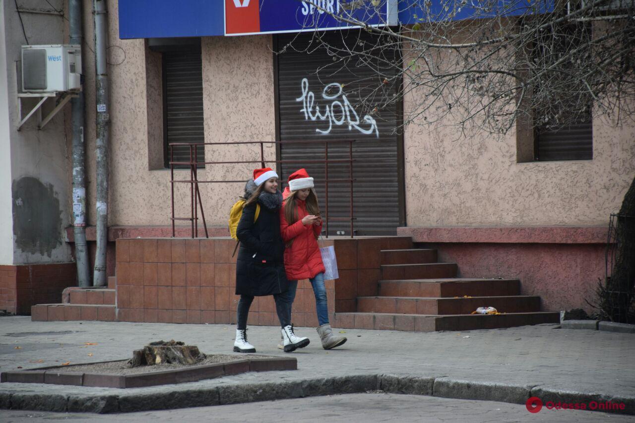 Первый день 2020 года в Одессе (фоторепортаж)