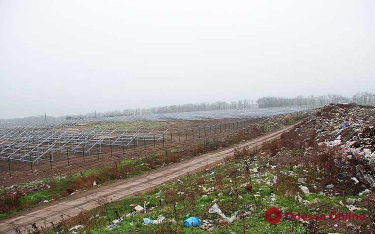 В Одесской области на месте свалки строят солнечную электростанцию