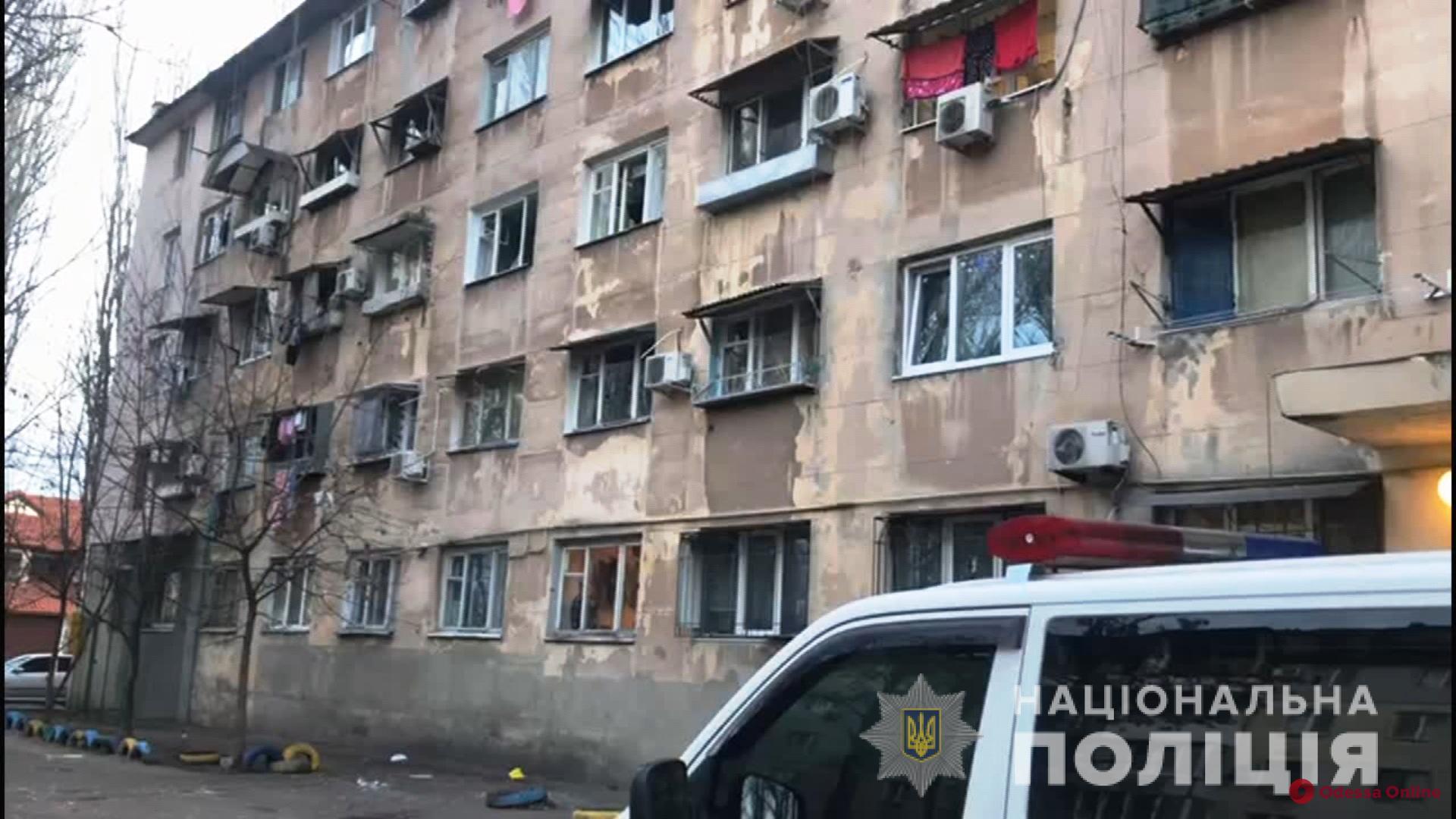 Полицейские задержали одессита, который подорвал гранатой соседей по общежитию