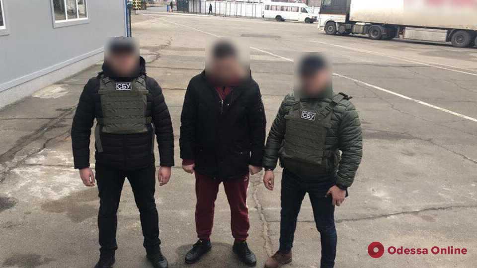 В Одесской области поймали наркоконтрабандиста