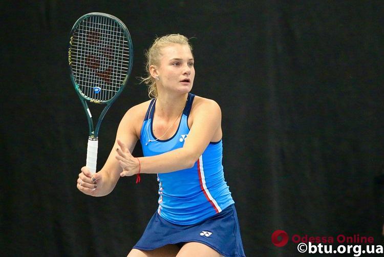 Одесские теннисистки приносят сборной Украины победу над командой Хорватии