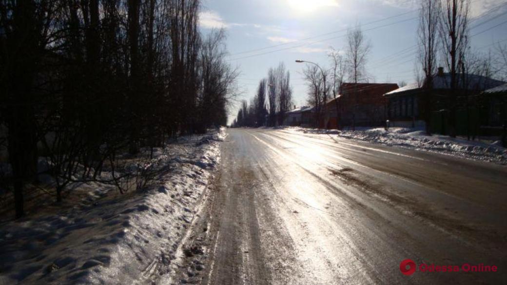 Трассу Одесса-Рени перекрыли из-за гололедицы (обновлено)
