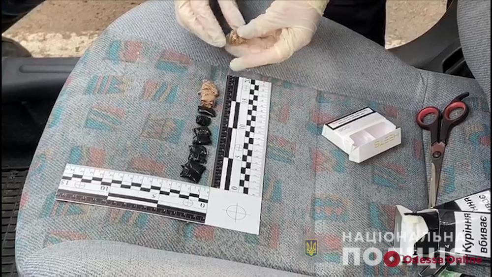В Одессе поймали закладчика «за работой»