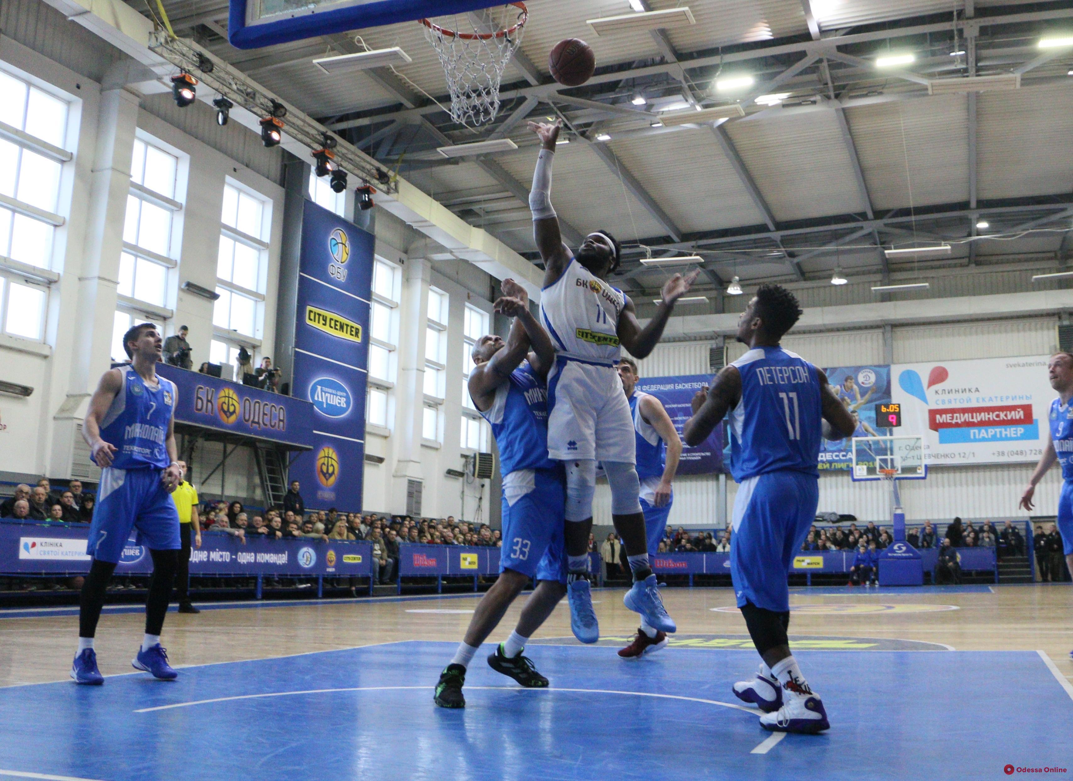 Баскетбол: «Одесса»с трудом обыграла соседей из Николаева
