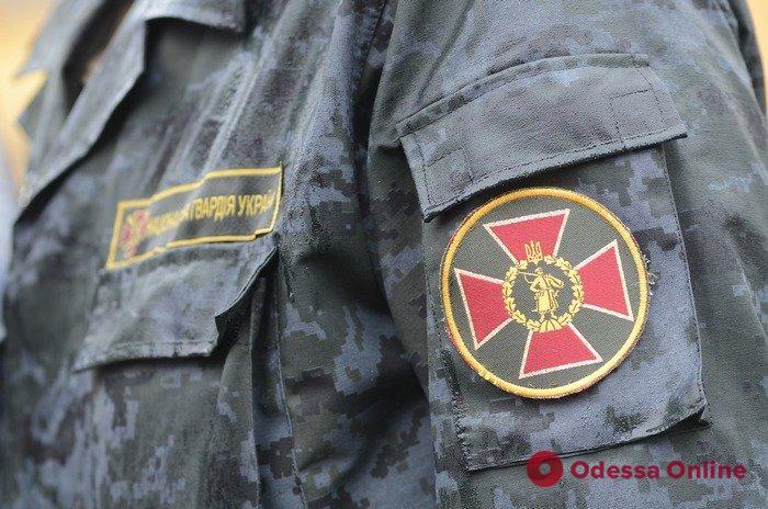 В Одессе нацгвардейцы поймали с поличным автовора