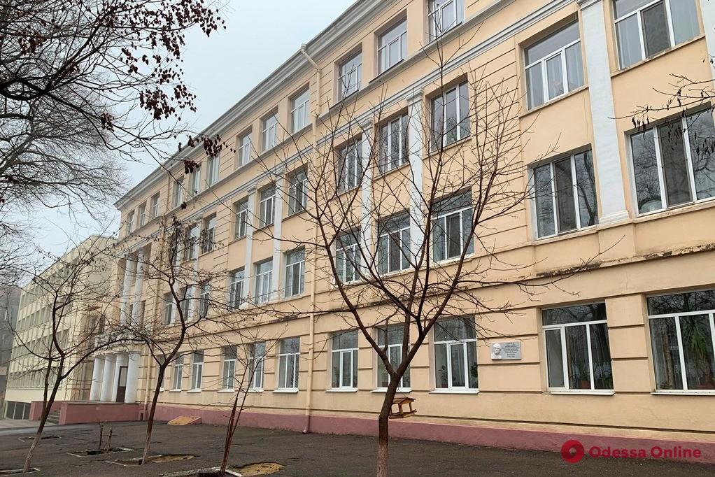 На Старопортофранковской капитально ремонтируют школу (фото)