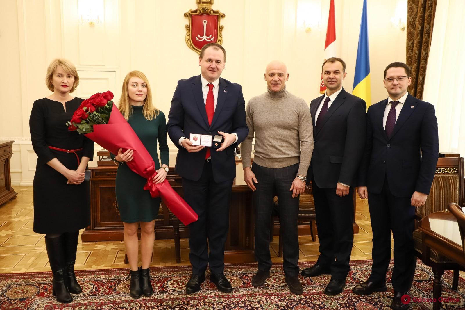 В Одессе меняется генконсул Польши