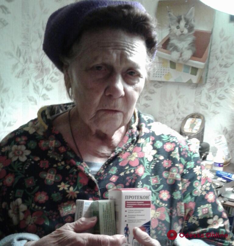 Одесситы создали группу помощи пожилым людям